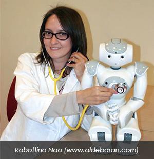 Clara Pozzi robottino Nao