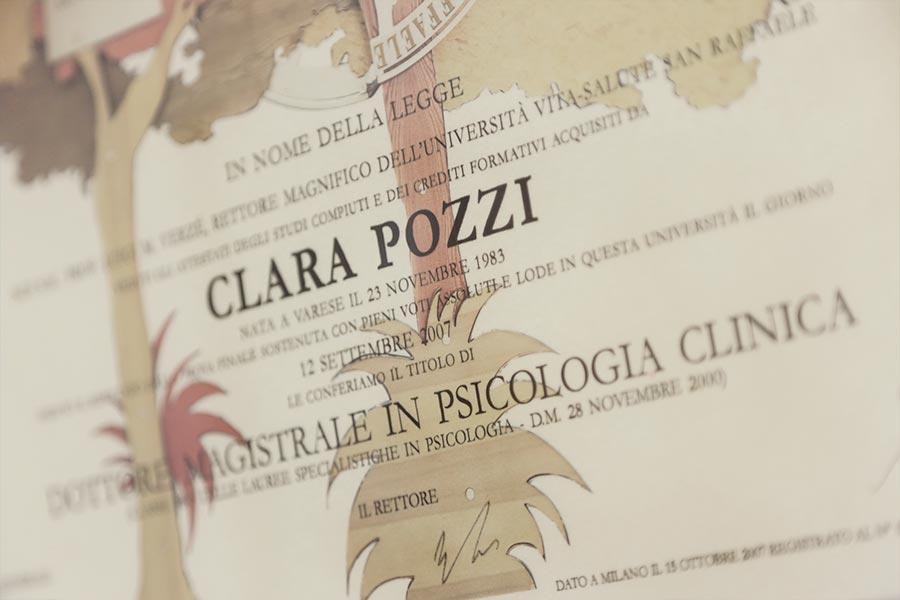 Clara Pozzi Psicologa Gallarate età adulta